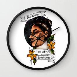 Henrietta Swan Leavitt Wall Clock