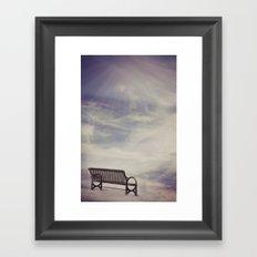 Ω Waiting Room Ω  Framed Art Print