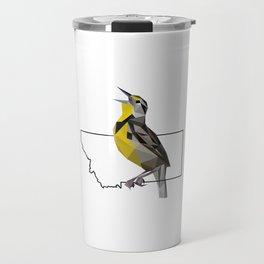 Montana – Western Meadowlark Travel Mug