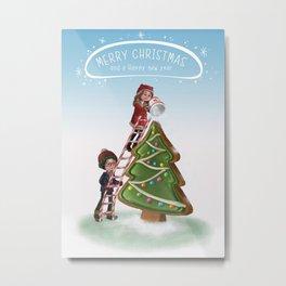 Merry Chritsmas Metal Print