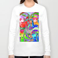pablo picasso Long Sleeve T-shirts featuring Pop Picasso by Joe Ganech