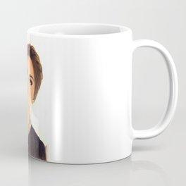 cute lovely black dress drawing girl  Coffee Mug
