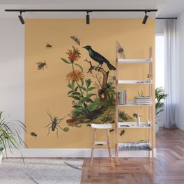 Halloween and entomology Wall Mural