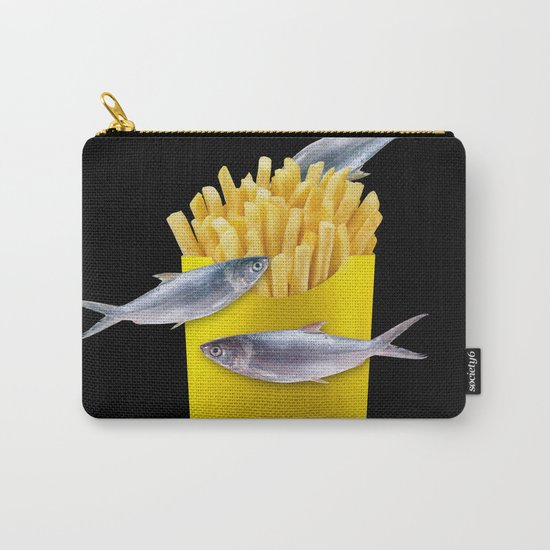 fish and chips Carry-All Pouch