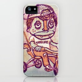 Tricycle Thuglife iPhone Case