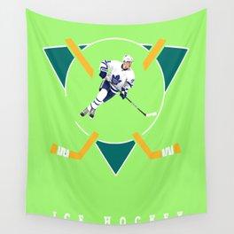 Ice hockey Wall Tapestry