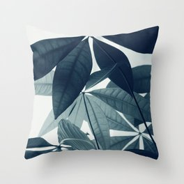 Pachira Aquatica #4 #foliage #decor #art #society6 Throw Pillow