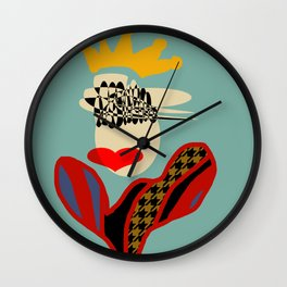 QUEEN OF STYLE Wall Clock