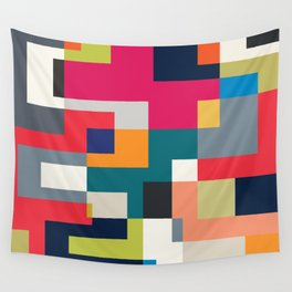 MOD PUZZLE Wall Tapestry