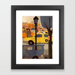 CROWN HEIGHTS 1 Framed Art Print