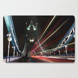 London by night... Cutting Board