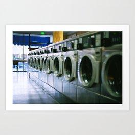 LA Laundry Art Print