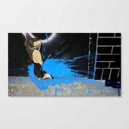 Ninja Blast Canvas Print