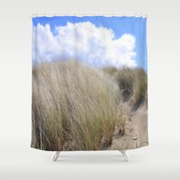 dune Shower Curtains featuring Dune 2  by  Agostino Lo Coco