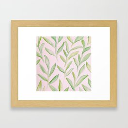 Leafy Green Framed Art Print
