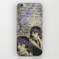 kiki iPhone & iPod Skins featuring KIKI by Luca Piccini