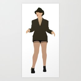 Val from Broad City Art Print