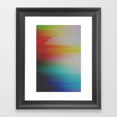 Astral Horizon Framed Art Print