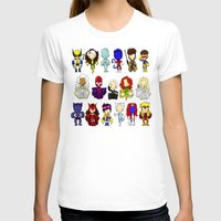 x men T-shirts featuring X MEN GROUP by Space Bat designs