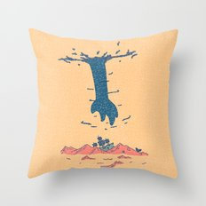 The Guy Above Throw Pillow