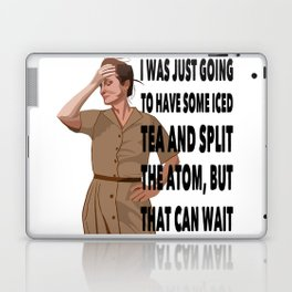 I was going to have some tea Laptop & iPad Skin