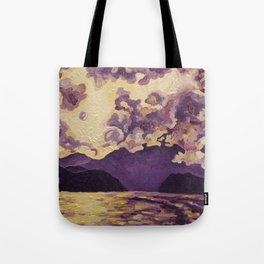 Purple Mountain Tote Bag