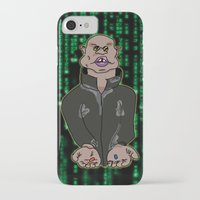 matrix iPhone & iPod Cases featuring Matrix by flydesign