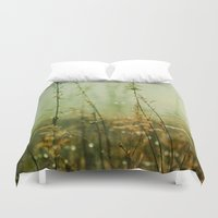 meditation Duvet Covers featuring Meditation by Olivia Joy StClaire