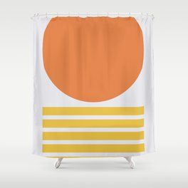 Geometric Form No.5 Shower Curtain