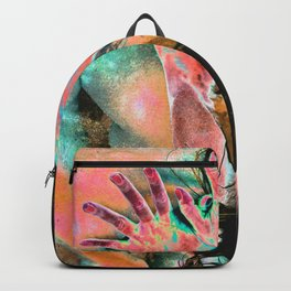 Touching water ground Backpack