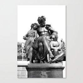 Dresdener Ansichten / Brühlsche Terrassen Canvas Print