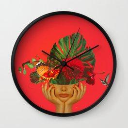 Florália Wall Clock