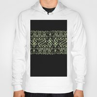 tigers Hoodies featuring Tigers by Camille Hermant