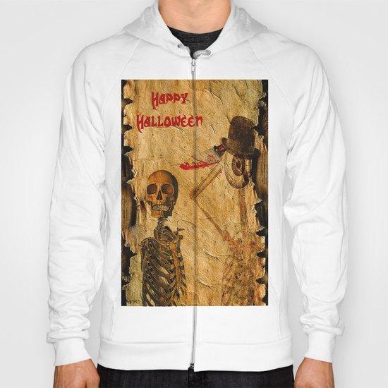 Halloween for Monsieur Bone Hoody