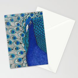 Peacock Pride Stationery Cards