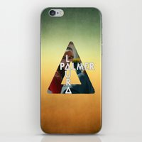 laura palmer iPhone & iPod Skins featuring Bastille - Laura Palmer by Thafrayer