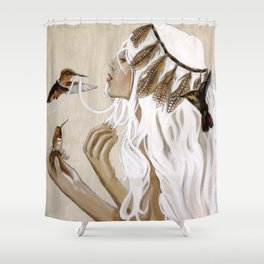 Humming Shower Curtain