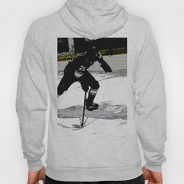 On the Move - Hockey Player Hoody