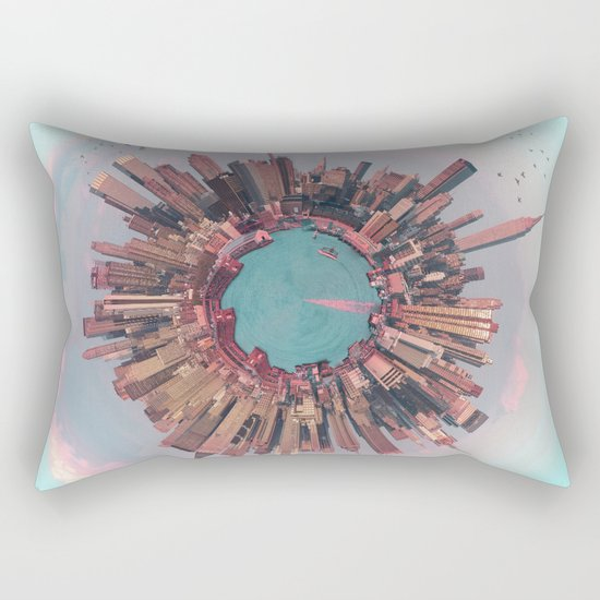 New York City mini world Rectangular Pillow