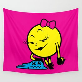 Ms. Pac-Man Wall Tapestry