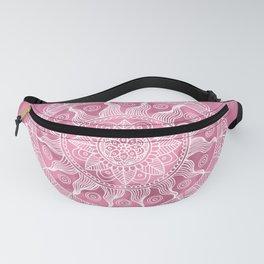Chic Pink Boho Mandala Fanny Pack