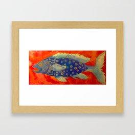 Sir Gelato Framed Art Print