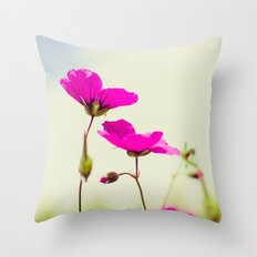 July, July! Throw Pillow