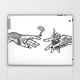 the creation of cannabis Laptop & iPad Skin