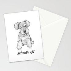 Dog Breeds: Schnauzer Stationery Cards