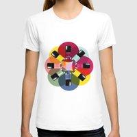 nail polish T-shirts featuring Designer Nail Polish Print by BeckiBoos