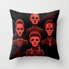 Petit Rouge Rhapsody Throw Pillow