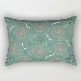 Flower Power 08 Rectangular Pillow
