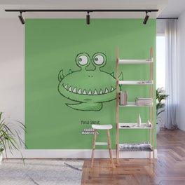 Tickleslug Wall Mural