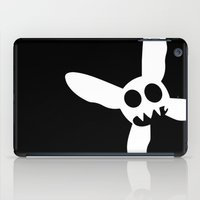 pixies iPad Cases featuring Necrotic Pixies Jolly Rodger by Jesse G.